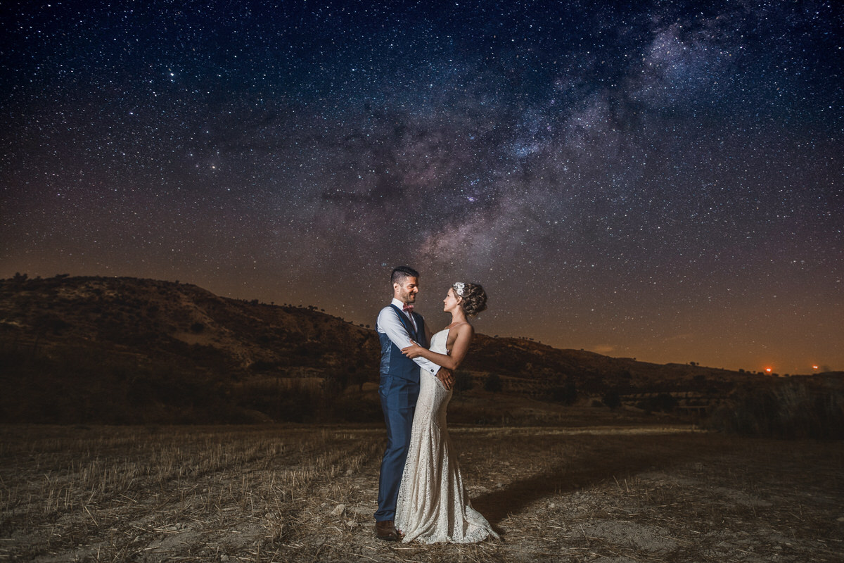 amazing wedding photography cyprus stars