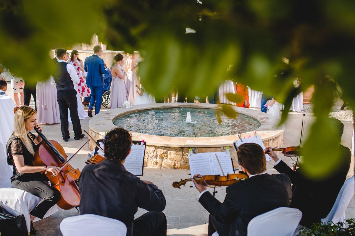 quartet by fountain