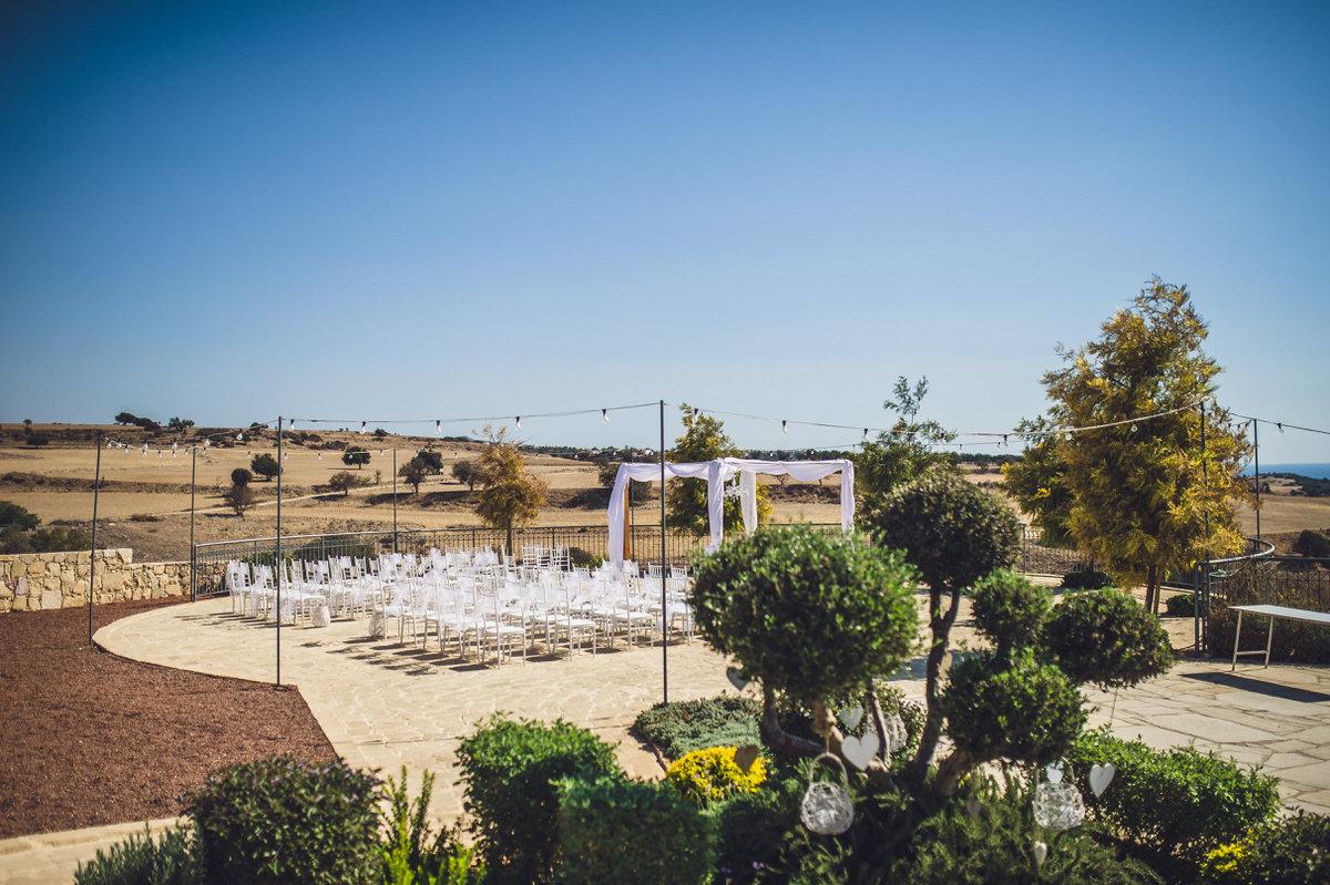 the circular terrace in kouklia