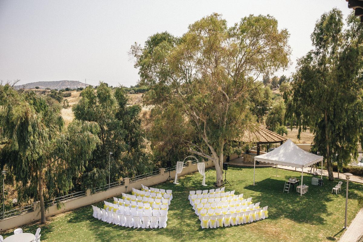 winery ceremony space