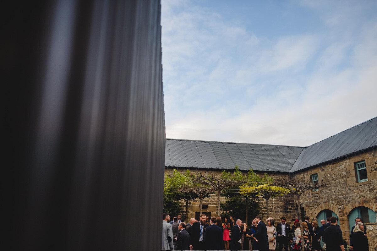 view of healey barn courtyard