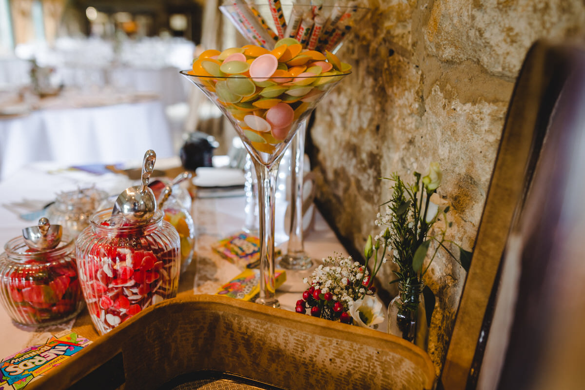 cocktail of sweets