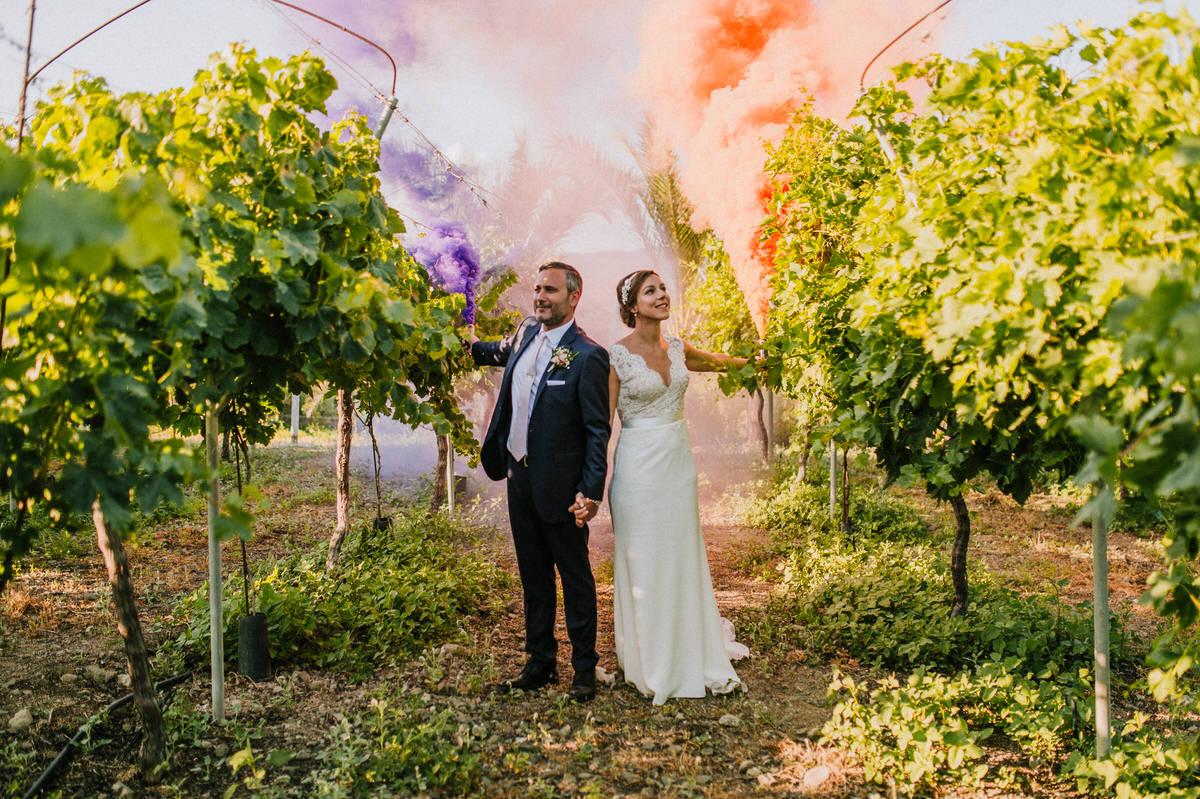 Stacey and Chris - Hadjiantonas Winery, Cyprus 54