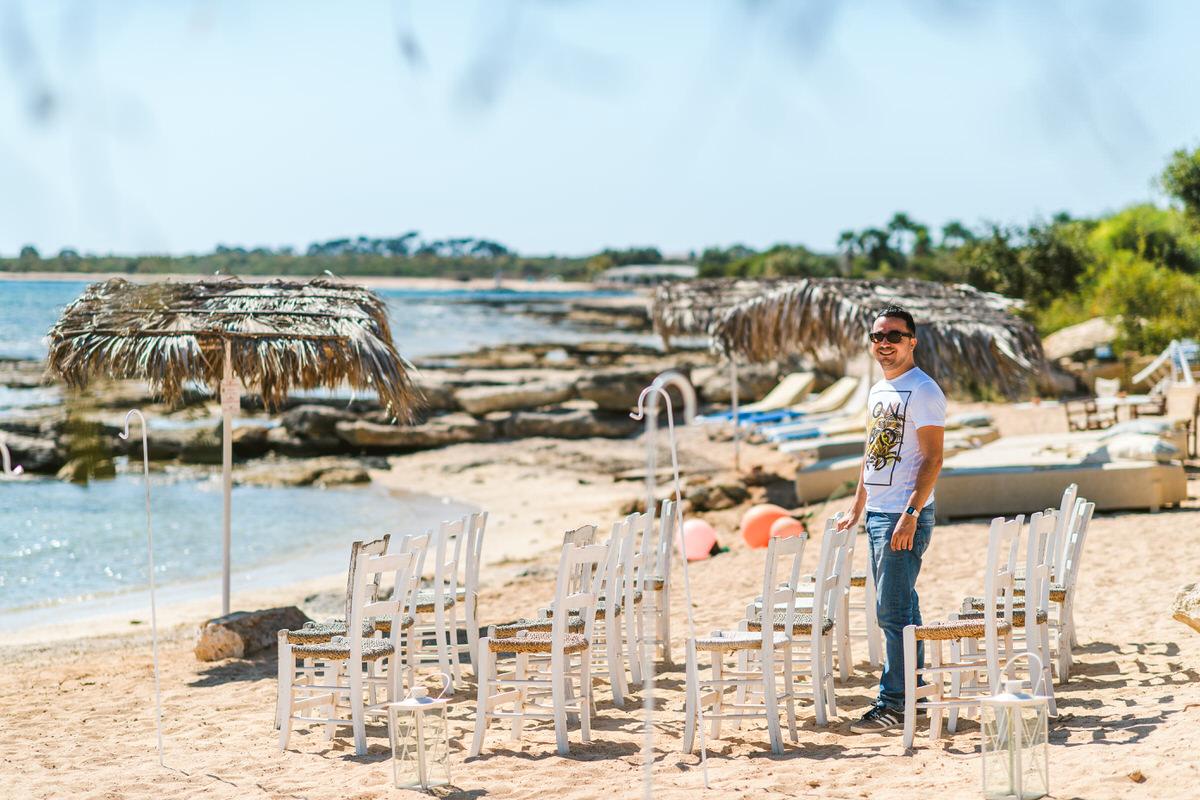 Raya and Adhib - Thalassines Beach Villas, Cyprus 3