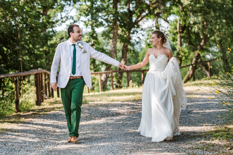 Jessica & Dan's Foodie Livernano Estate Wedding in Tuscany 1