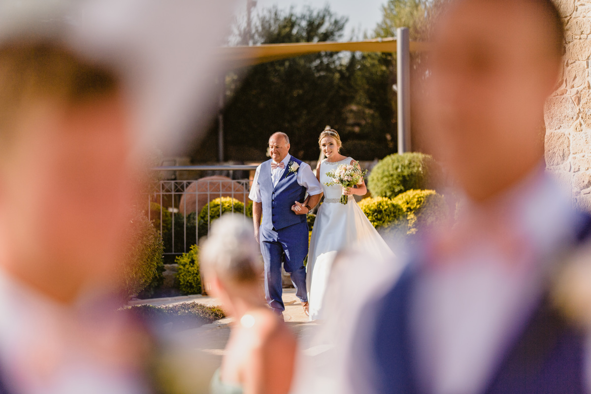 Nicola and Joel fell head over heels for Liopetro Venue for their destination wedding in Cyprus. Find inspiration and tips for your own wedding abroad here.