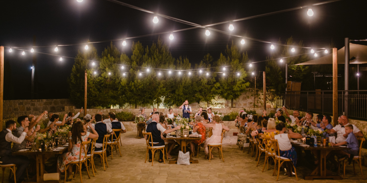Nicola and Joel fell head over heels for Liopetro Venue for their destination wedding in Cyprus. Find inspiration and tips for your own wedding abroad here. Beziique Cyprus Wedding Photographer Liopetro