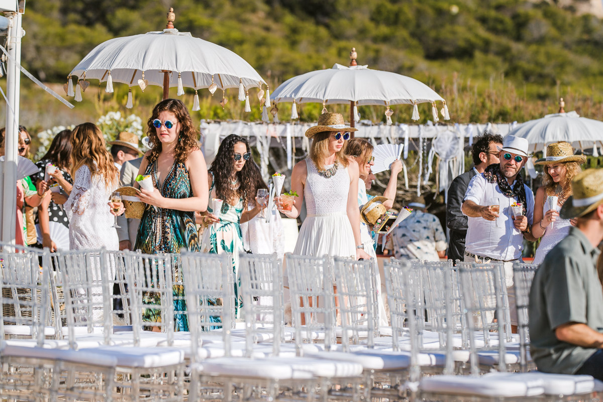 As this couple's Ibiza wedding photographer, we went on a five-day adventure with a beach ceremony and jungle festival reception. Prepare to be inspired...