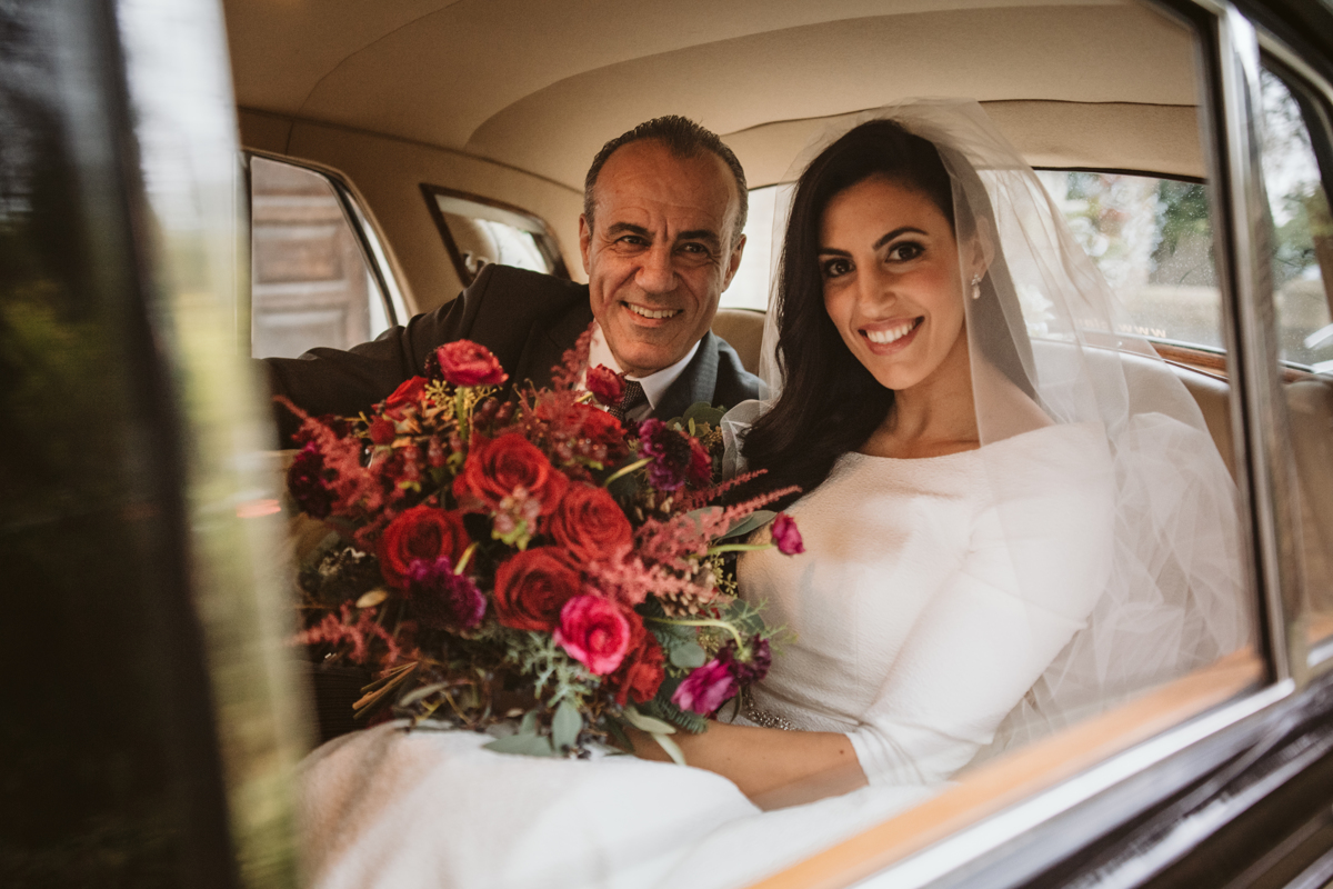 Fall head over heels for Stephanie and Jamie's Landmark Hotel London Wedding, captured by Beziique, their chosen Greek London wedding photographer