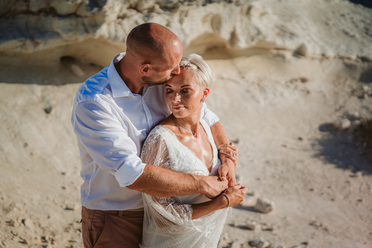 Alana & Luke's Sensational Underwater Cyprus Sea Caves Trash the Dress Shoot 4