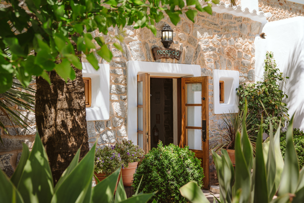 Iain & Sophie's Enchanting White Agroturismo Can Gall Ibiza Wedding 1