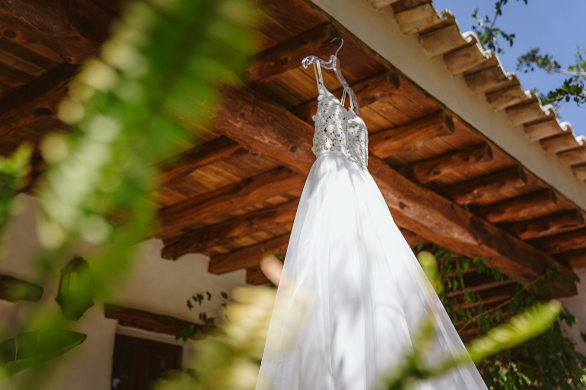 Iain & Sophie's Enchanting White Agroturismo Can Gall Ibiza Wedding 3