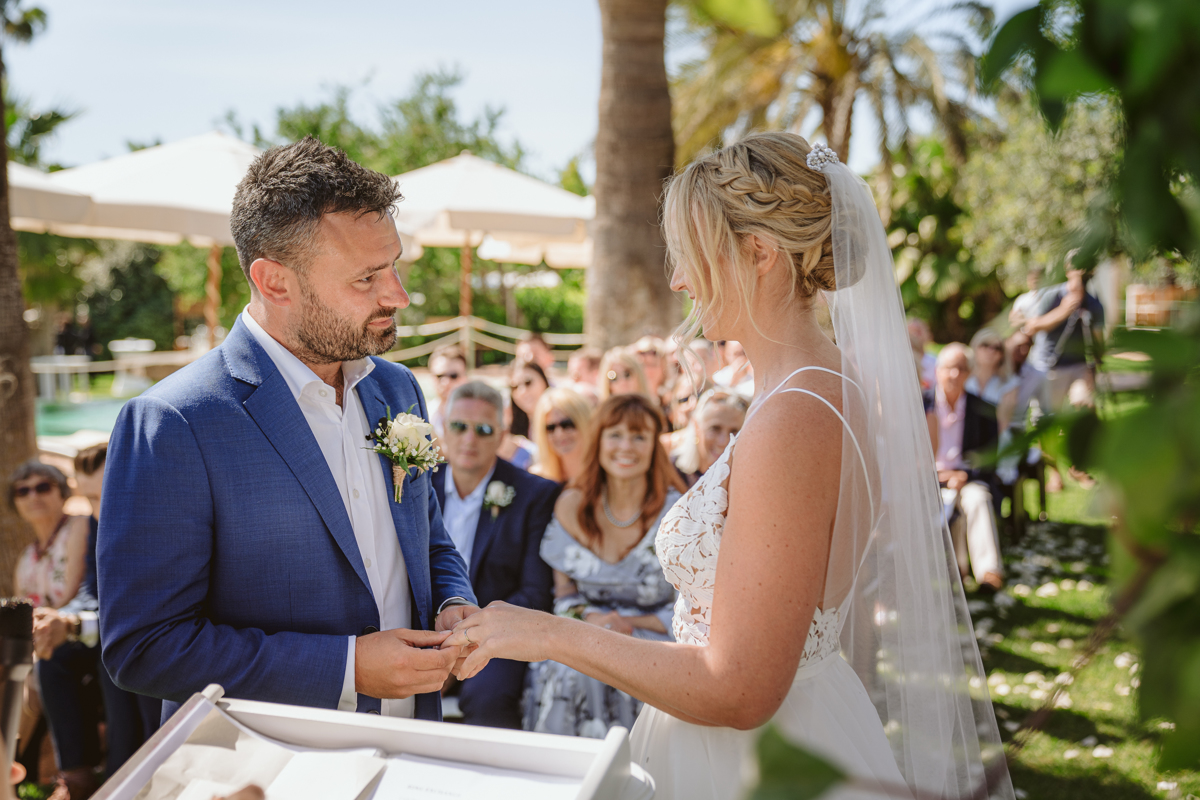 Iain & Sophie's Enchanting White Agroturismo Can Gall Ibiza Wedding 17