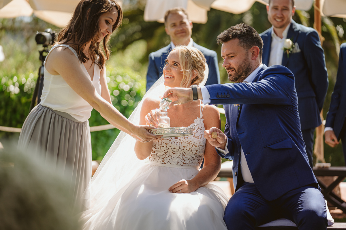 Iain & Sophie's Enchanting White Agroturismo Can Gall Ibiza Wedding 19