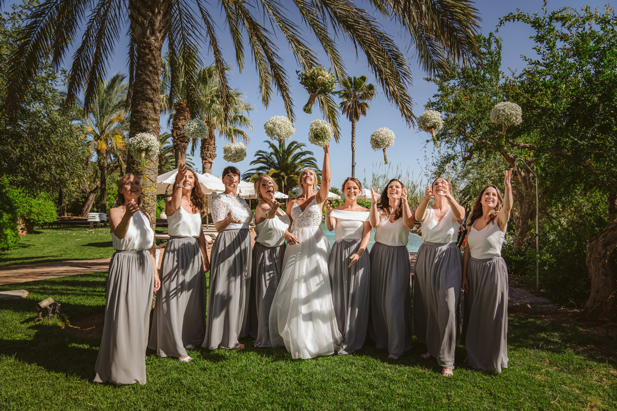 Iain & Sophie's Enchanting White Agroturismo Can Gall Ibiza Wedding 10