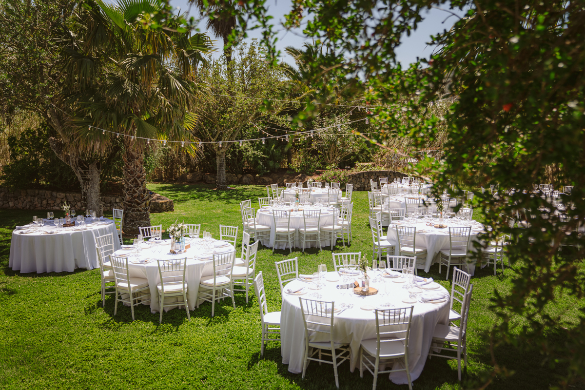 Iain & Sophie's Enchanting White Agroturismo Can Gall Ibiza Wedding 23