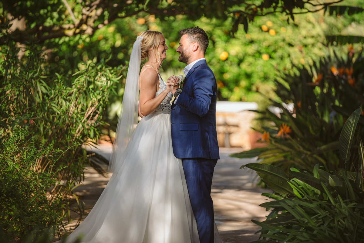 Iain & Sophie's Enchanting White Agroturismo Can Gall Ibiza Wedding 2