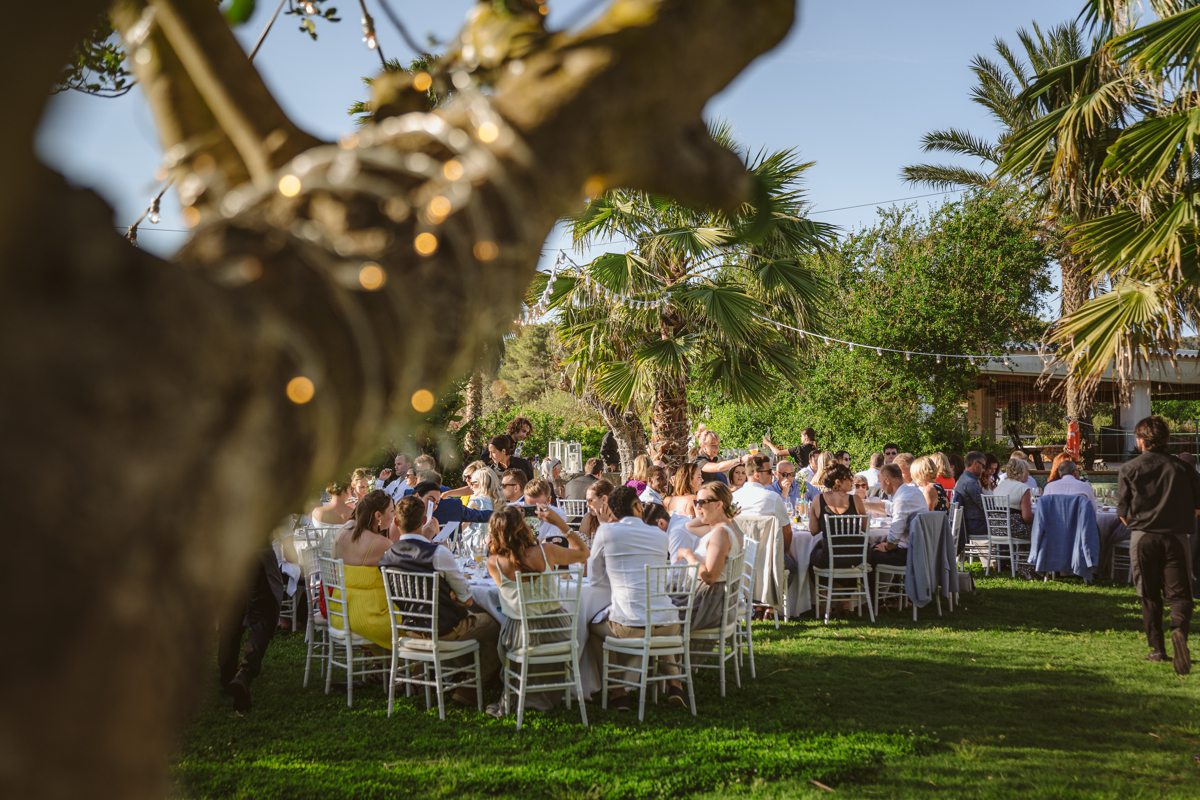 Iain & Sophie's Enchanting White Agroturismo Can Gall Ibiza Wedding 26