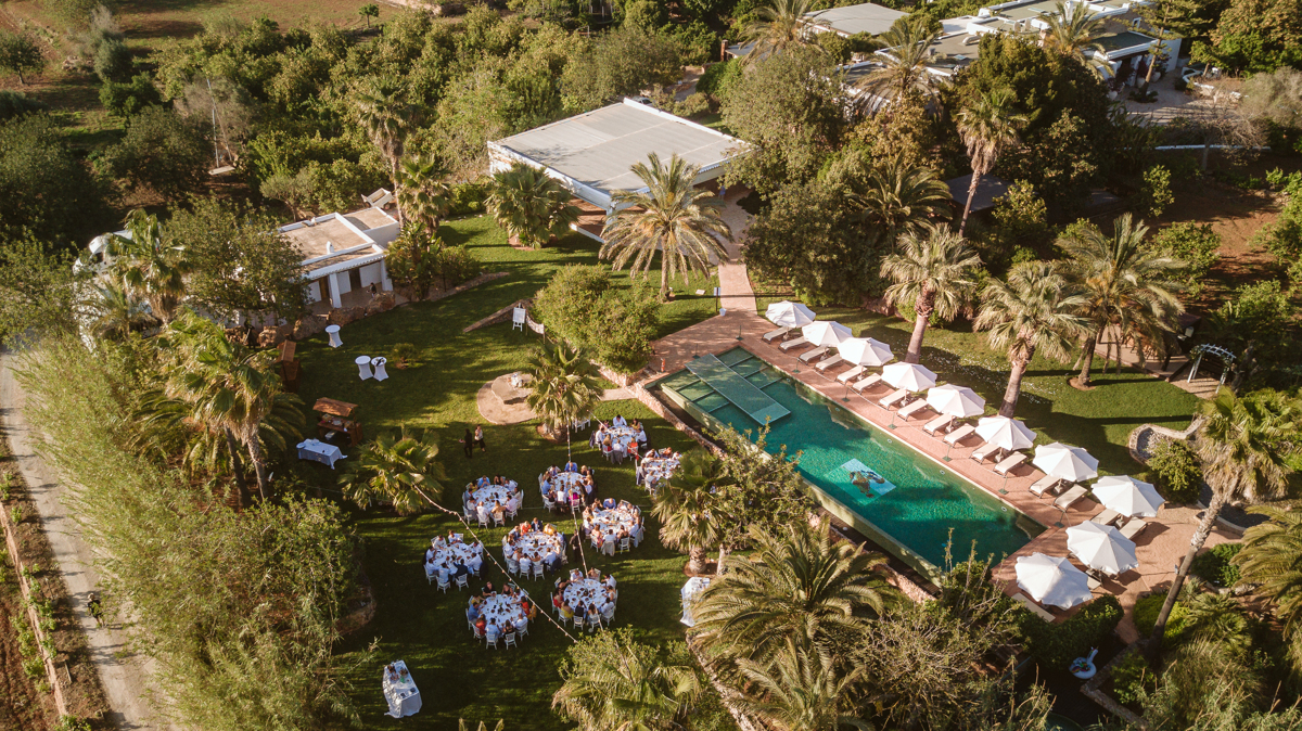 Iain & Sophie's Enchanting White Agroturismo Can Gall Ibiza Wedding 22
