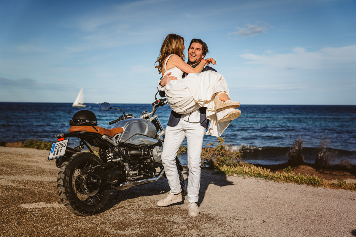 Antonia & Birger's Epic Ibiza Beachfront Pre-Wedding Party 8