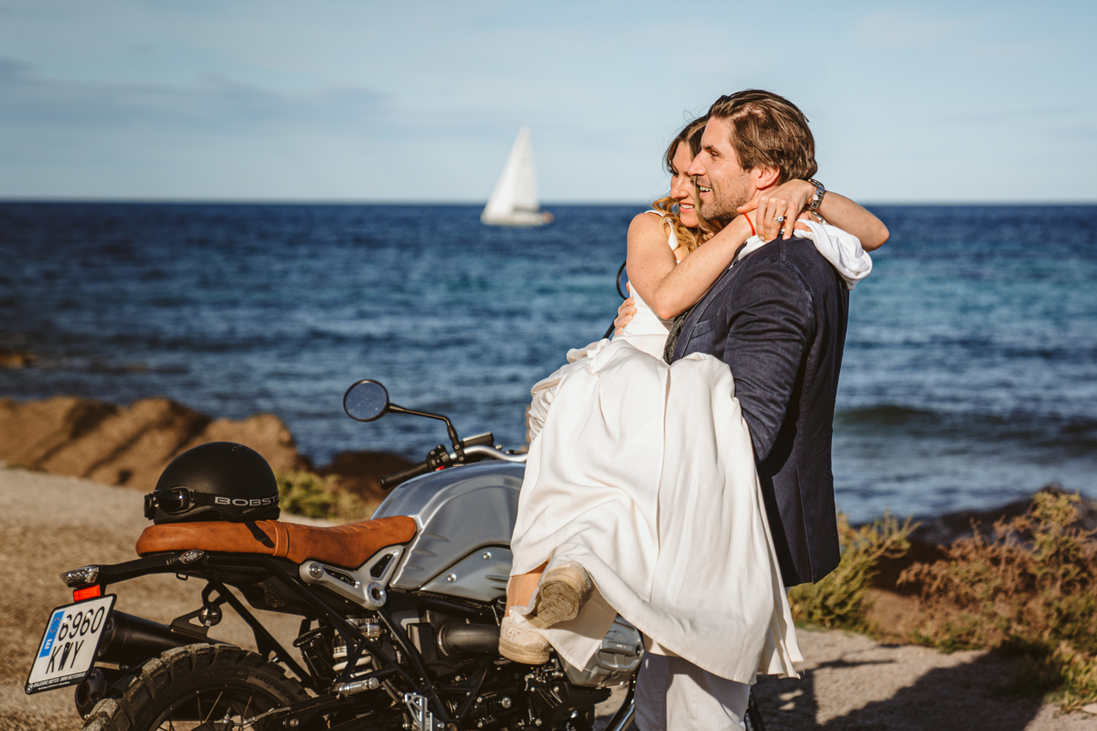 Antonia & Birger's Epic Ibiza Beachfront Pre-Wedding Party 9