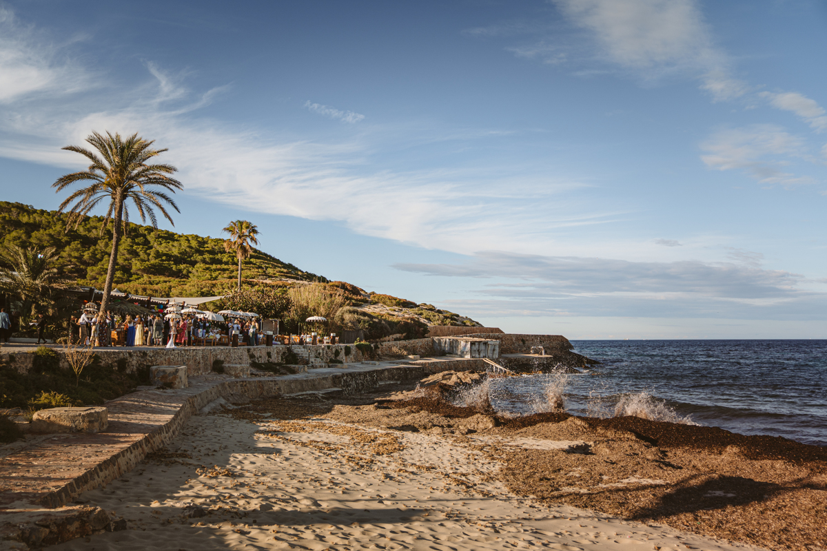 Antonia & Birger's Epic Ibiza Beachfront Pre-Wedding Party 2