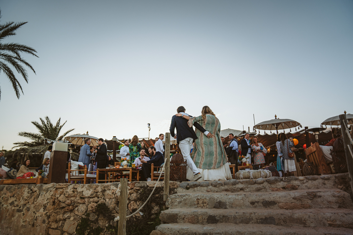 La Escollera Ibiza Wedding Photographer
