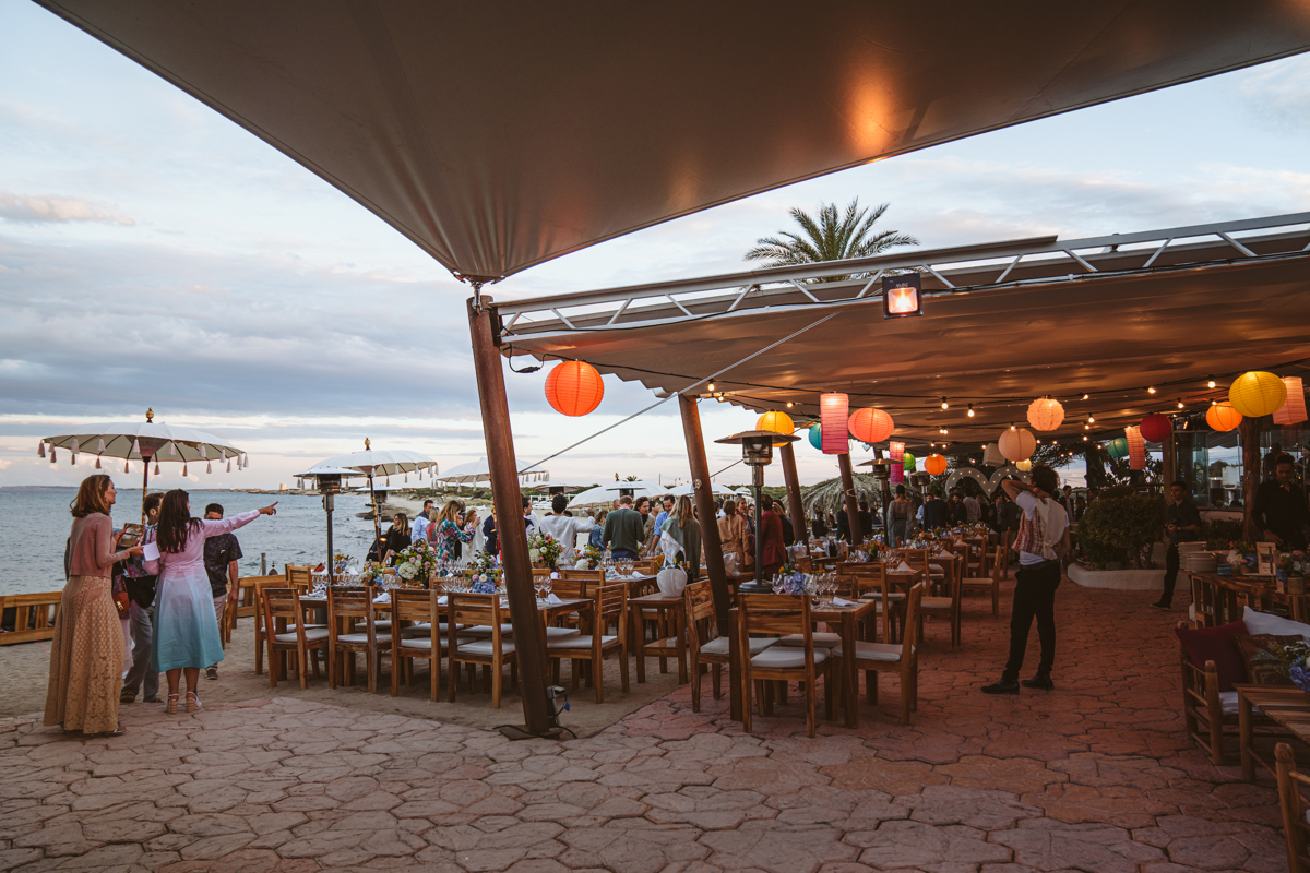 Antonia & Birger's Epic Ibiza Beachfront Pre-Wedding Party 13