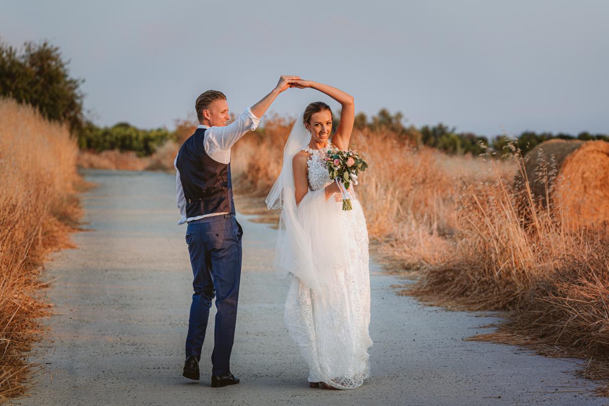 Get a sneak peek at Charlene and Ben's beautiful blush pink Liopetro wedding in Cyprus, captured by Beziique, their creative Kouklia wedding photographers.