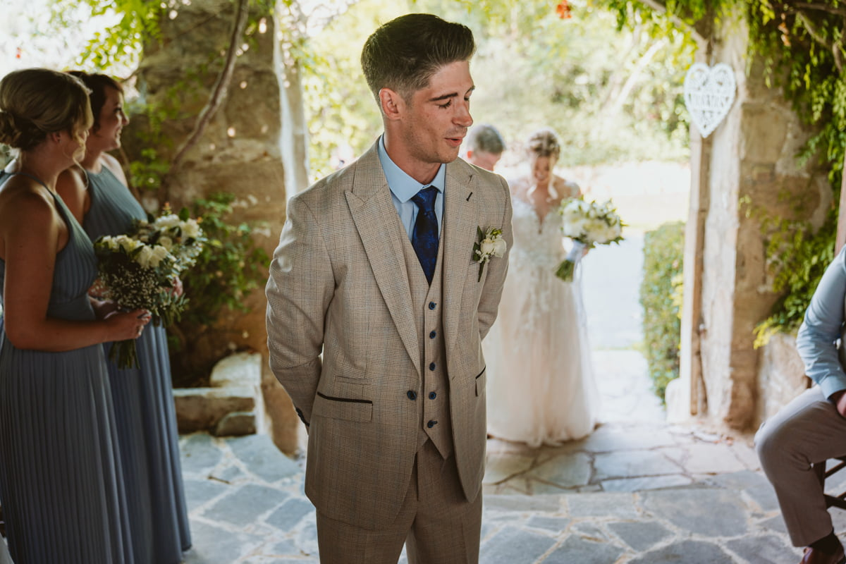 Go behind the scenes of our 1st Cyprus wedding since covid-19 as Vasilias wedding photographer for Liam & Chloe dream destination wedding.