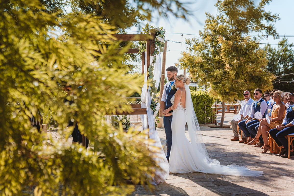 Peek behind the scenes at Natalie and Jack's gorgeous covid-19 wedding in Cyprus, captured by top Liopetro wedding photographer Beziique!